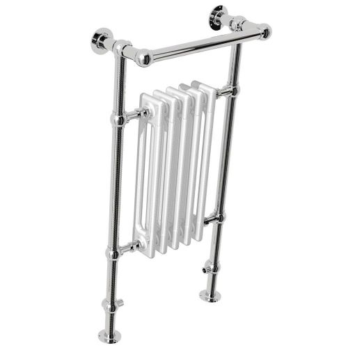 Abacus Elegance Half Sorereign Traditional Towel Rail - 960mm x 500mm - Chrome